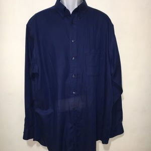 Roundtree & Yorke Travel Smart Button Down   C184